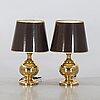 A pair of table lamps, miranda, modell 492.