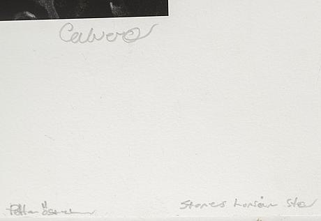 Torbjörn calvero, photograph signed calvero.