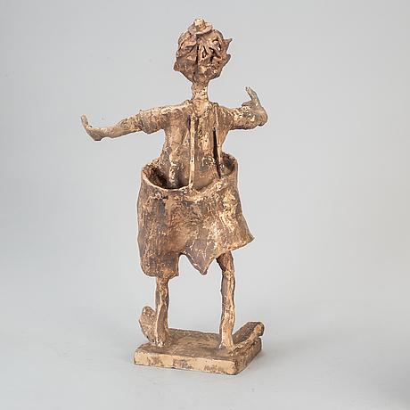 Karl hÖglund, skulptur, brons, signerad karl höglund och numrerad 16/25.