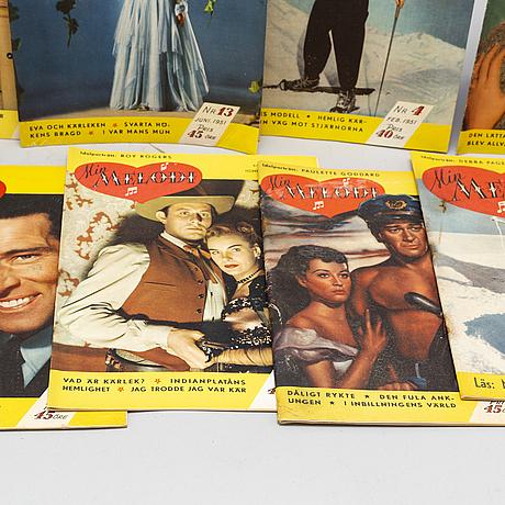 60 'min melodi' magazines 1951-1953.