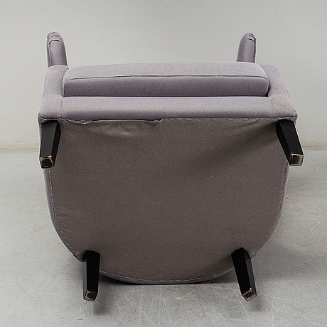 A pair of 21st century easy chairs.