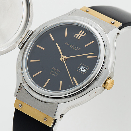 Hublot, classic mdm, wristwatch, 32 mm.