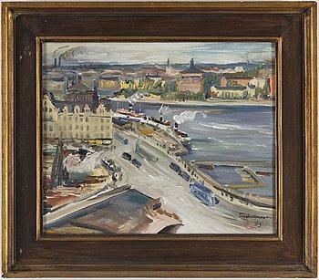 CARL EINAR FREDRIKSSON, oil on canvas, signed.