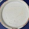 Teservis, tre delar, jasperware. wedgwood, 1900-talets början.