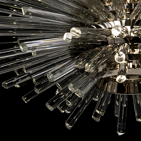 An austrian 1960s 'miracle' chandelier by bakalowits & sohne.