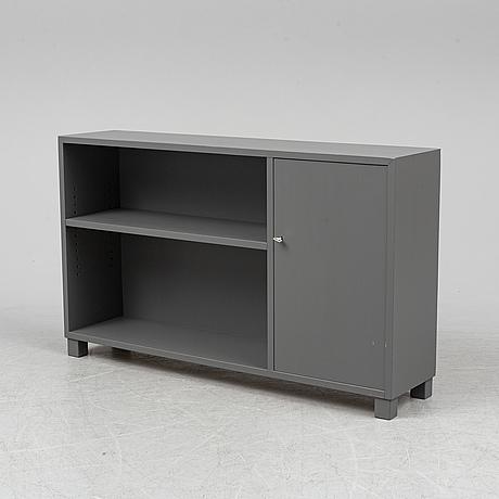 A 1940s painted shelf.