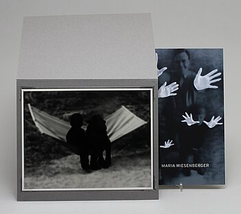 """Maria Miesenberger, Book and photograph """"Works by Maria Miesenberger"""", signed ed 20/100."""