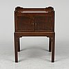 Bedside table, probably england, second half of the 20th century.