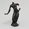 Peter dahl, a bronze sculpture, herman bergman fud, signed and numbered ea.