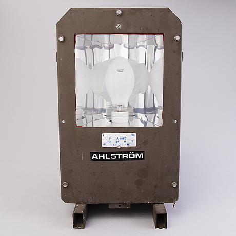 Industrial lamp, ahlström finland.