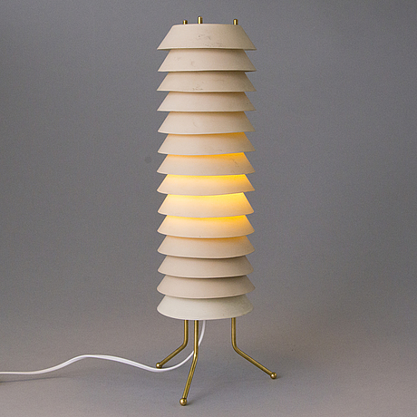 Ilmari tapiovaara, a 'maija the bee' table lamp for asko/hienoteräs.