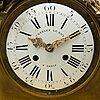 A louis xvi-style 19th century table clock.