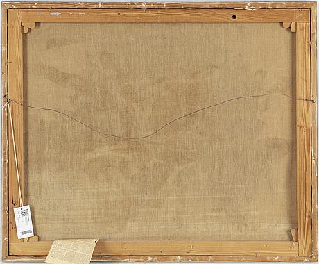 Bror ingemar frÖberg, olja på duk, signerad och daterad 66.