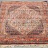 A rug, old sarouk/serabend, ca  216 x 118 cm.