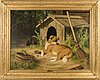 Ferdinand von wright, the dog.