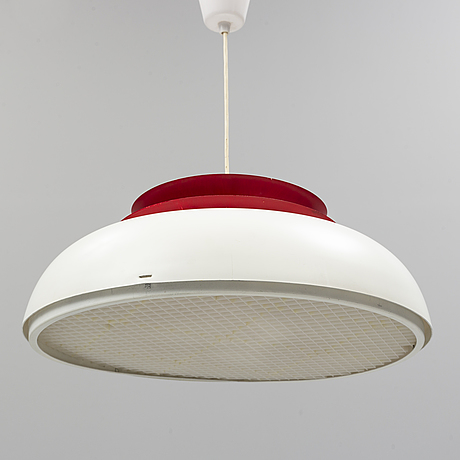 A mid 20th century ceiling light by hans-agne jakobsson, markaryd, sweden.