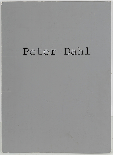 Peter dahl, portfolio with 4 lithographs in colours, 2001, signed ea 21/40.