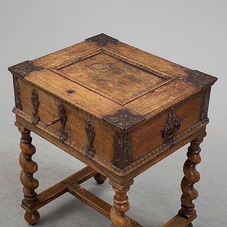 Färdskrin, barock, 1700-tal.