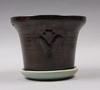Parti keramik och glas, 5 delar, bl a arthur percy, gefle.