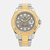 Rolex, oyster perpetual date, yacht-master, chronometer, wristwatch, 40 mm.