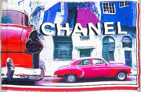 Chanel, silk scarf.