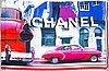 Chanel, sjal.