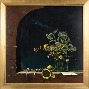 ANTTI LAMPISUO, oil on board, signed and dated 1979.