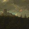 Jacob van ruisdael, hans efterföljd, olja på duk.