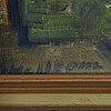 Emil hellbom, oil on canvas, signed.