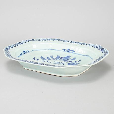 Terrinfat, kompaniporslin. qingdynastin, qianlong (1736-95).