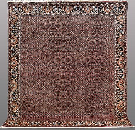 A carpet, bidjar, ca 292 x 256 cm.