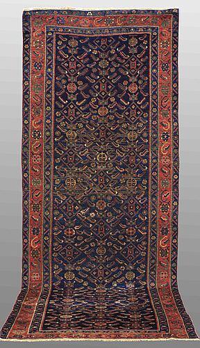 A carpet, hashtroud, ca 352 x 142 cm.