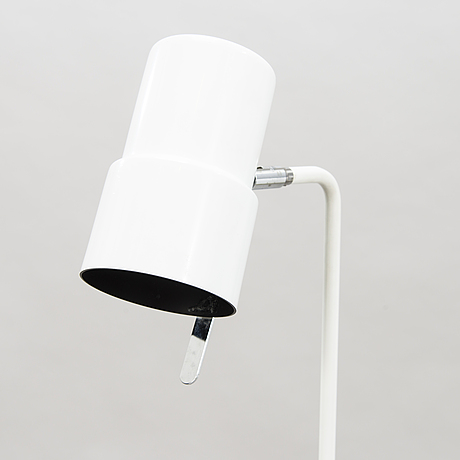 "A white floor lamp ""g-154/2"" by hans agne jakobsson, markaryd, sweden 2:nd half of 20th century."