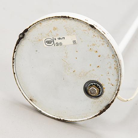 """Hans-agne jakobsson, golvlampa, """"g-154/2"""", markaryd, 1900-talets andra hälft."""
