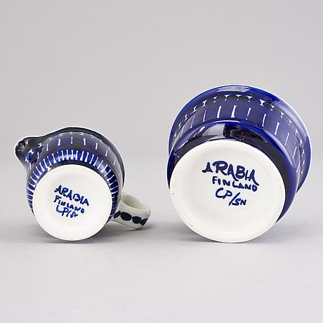 Ulla procopÉ, a 21-piece 'valencia' tea set for arabia, finland, 1970s.