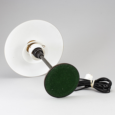 Poul henningsen, bordslampa, louis poulsen, danmark, delvis 1930-tal.
