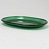 Six glass lobster plates by josef frank for firma svenskt tenn.