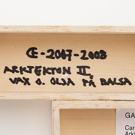 """Carolus enckell,""""arkitektonii""""."""