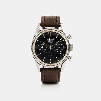 111. HEUER, Carrera, chronograph.