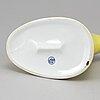 "A porcelain water jug, model ""svenska amerika linjen"", around the mid 20th century."