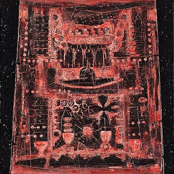 """516. Albert Johansson, """"Signs for hymn II or The Mimarobe's recollection"""" (Tecken för hymn II eller Mimarobens minnesbild)."""