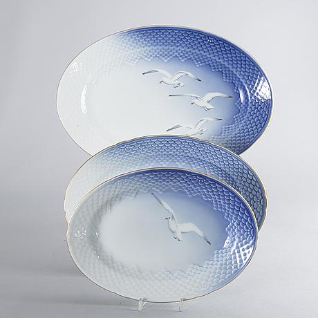 "Bing & grÖndahl, ""blå måsen"", servisdelar, 121 dlr, danmark."