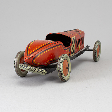 Tipp & co, a german tin toy car, 1920's.