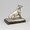 Alois ritter, skulpture, silver, signed and dated 1931.