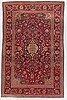 A rug, semi-antique kashan, ca 213 x 136 cm.