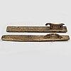 MangelbrÄden, 2 stycken, 1600-tal och 1700-tal.