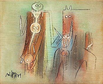 593. Wifredo Lam, Untitled.