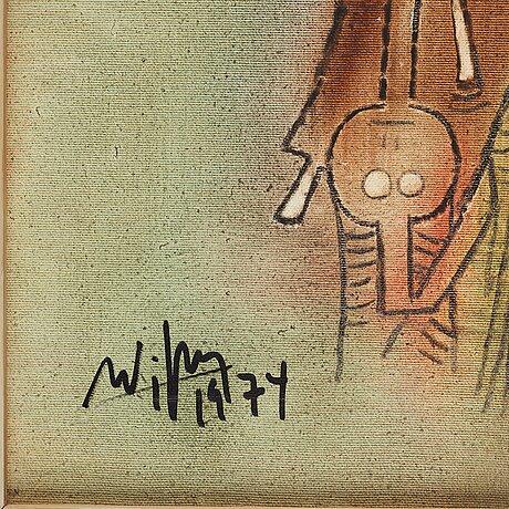Wifredo lam, untitled.