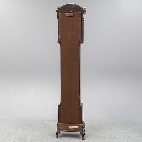A longcase clock, dial signed hugh gordon, aberdeen.