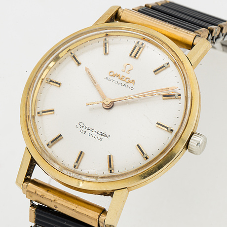Omega, seamaster de ville, wristwatch, 34.5 mm.